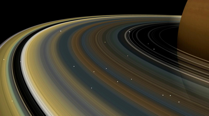 Saturn has potential life that exist on its moon planet