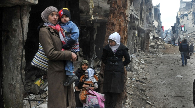 The War in Syria has disintegrated an entire Country
