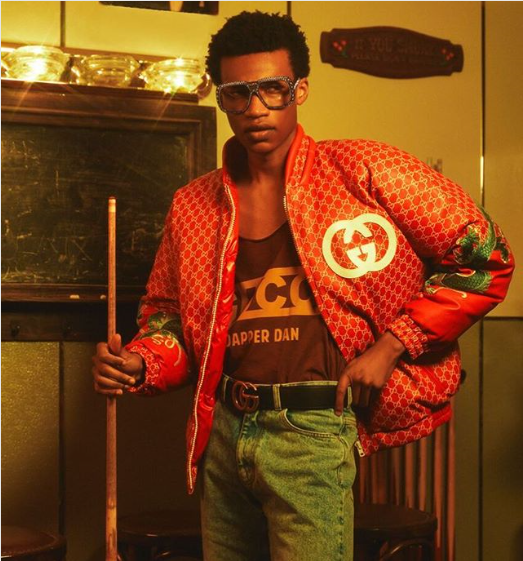 Iconic 80's Fashion Designer Dapper Dan Links A Partnership With Gucci
