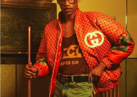 Iconic 80's Fashion Designer Dapper Dan Links A Partnership With Gucci